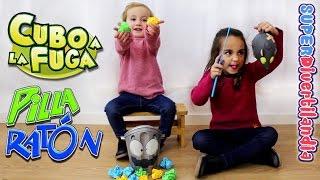 getlinkyoutube.com-Pilla Ratón y Cubo a la fuga! IMC Toys. Juegos en familia, SUPERDivertilandia.