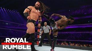 Rich Swann vs. Neville - WWE Cruiserweight Title Match: Royal Rumble 2017