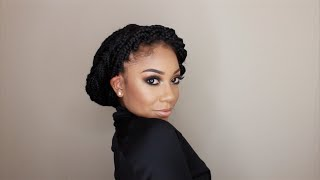getlinkyoutube.com-12 Ways To Style Box Braids | FACEOVERMATTER