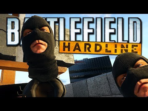 Battlefield: Hardline Funny Moments - Crazy Glitches & Trolling! (BF: Hardline Funny Moments!)