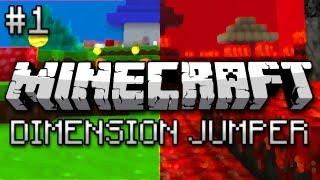 getlinkyoutube.com-Minecraft: Dimension Jumper Part 1 - Magical Magic