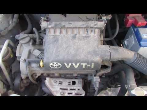 Работа двигателя Тойота Ярис 1,3 (2SZFE) 070217