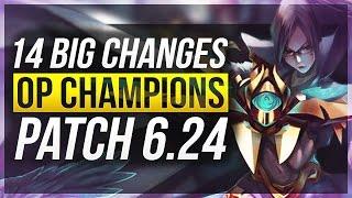 getlinkyoutube.com-14 BIG CHANGES & NEW OP CHAMPS - Patch 6.24 - League of Legends