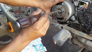 Cara Mengganti Spul Untuk Motor Honda Win   Cara Ganti Spul Pengapian Yang Rusak