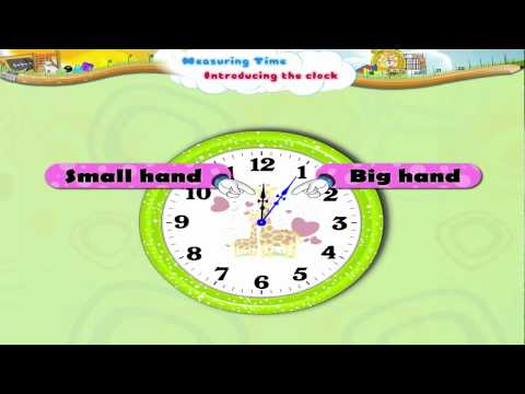 Learn Grade 3 - Maths - Introducing Clock and Measuring Time