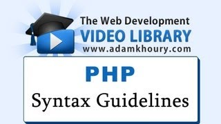 getlinkyoutube.com-PHP Tutorial - Syntax Guidelines and Rules for Beginners