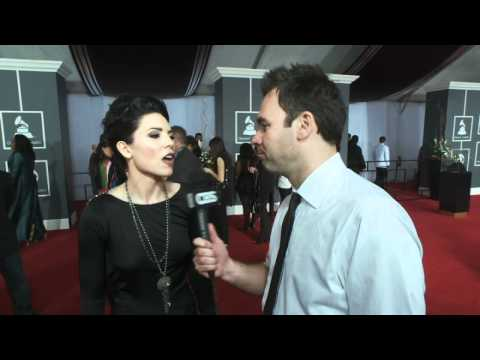 53rd Grammy Awards - Skylar Grey Interview