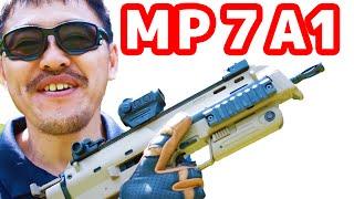 getlinkyoutube.com-東京マルイ MP7A1 タンカラー ガス ブローバック マシンガン レビュー#250