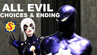 getlinkyoutube.com-All Evil Choices and Evil Ending - Spider-Man Web of Shadows