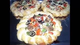 getlinkyoutube.com-طريقه عمل بيتزا مضفره مطبخ ساسى