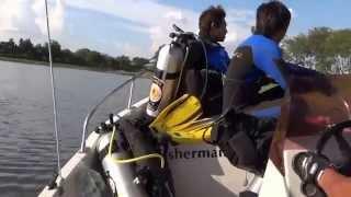 getlinkyoutube.com-ออกฝึกซ้อมชุดค้นหาใต้น้ำหลังเทศบาลโคกสำราญ อ บ้านแฮด จ ขอนแก่น