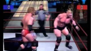 getlinkyoutube.com-Smackdown HCTP:  Triple H vs. Brock Lesnar (3 Stages of Hell)