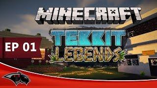 getlinkyoutube.com-Minecraft Tekkit Legend - Frost Is Here -| Ep 01