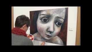 getlinkyoutube.com-Acrylmalerei . Acrylic painting demo.