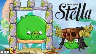 getlinkyoutube.com-Angry Birds Stella - Unlocked ALL Piggies Golden Map Walkthrough Part 49