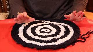 getlinkyoutube.com-Как связать круглый коврик   крючком