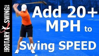 getlinkyoutube.com-How to Increase Club Head Speed in Golf: Swing Myth BUSTED!!!
