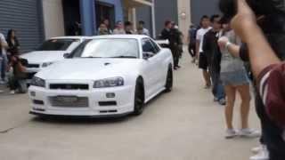 Nissan Skyline GT-R r34 Turbo Sound 720p