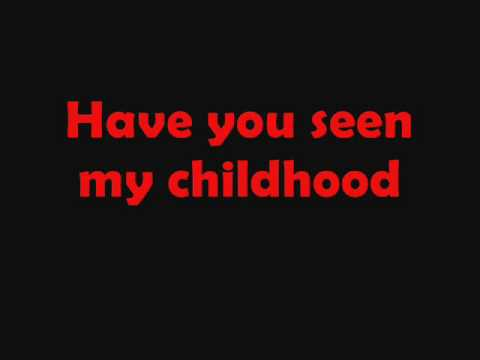 Michael Jackson Childhood lyrics