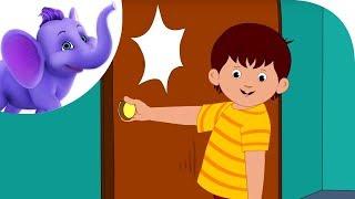getlinkyoutube.com-Knock at the Door - Nursery Rhyme with Karaoke