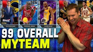 getlinkyoutube.com-EVERY 99 MYTEAM CARD!! NOT CLICKBAIT! NBA2K16!