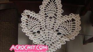 getlinkyoutube.com-Guardasitio de 3 piñas tejido al crochet parte 1