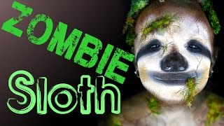 getlinkyoutube.com-Zombie Sloth Makeup Tutorial.... wait, what??