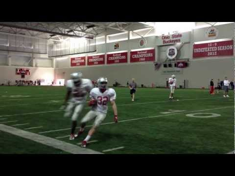 Buckeyes First Practice in Pads 1