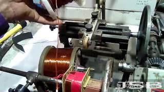 How To Make 12-0-12 (5AMP) Center Tape Transformer Winding. YT-32