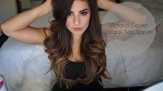 getlinkyoutube.com-Hafif Dalgalı Saç Yapımı ve Kalıcı Bukleler Için öneriler | Melis Limes