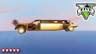 getlinkyoutube.com-GTA Insane Stunts | FLYING CAR GLITCH | GTA V Funny Glitches, Easter Eggs and Flying Cars