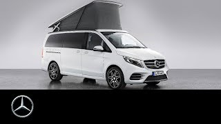 getlinkyoutube.com-Marco Polo – a new star in camper van heaven - Mercedes-Benz original