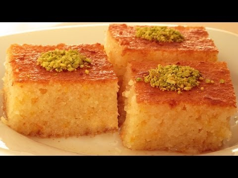 Revani Tarifi   Revani Tatlısı Tarifi   Portakallı Revani Nasıl Yapılır