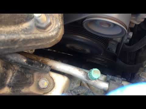 Где находится компрессор кондиционера в Suzuki Гранд Витара