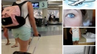 getlinkyoutube.com-Airplane/Traveling Makeup, Hair & Outfit + My Carry On Essentials