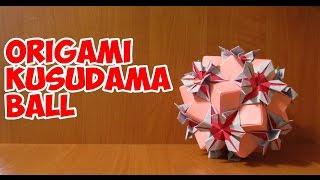 DIY: Оригами кусудама шар\Origami Kusudama Ball