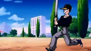 Dragon Ball Z Kai   Gohan Plays Baseball - English Dub