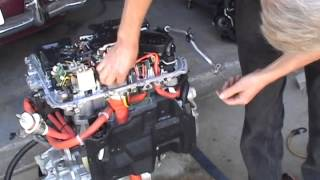 getlinkyoutube.com-Nissan Leaf Motor Unit Disassembly