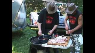 Pork Steaks and Beans by the BBQ Pit Boys