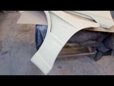Видеообзор - Пластиковые крылья с жабрами на Toyota altezza...