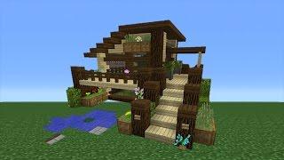 getlinkyoutube.com-Minecraft Tutorial: How To Make An Eco House - 2