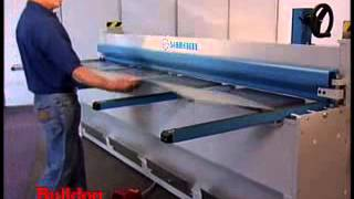getlinkyoutube.com-Sheet Metal Folding Machines - MAB 310 CNC making flashings