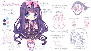 getlinkyoutube.com-【Speedpaint】 Sweet Gothic - Sketching! (Hyan Timelapse #116 b)