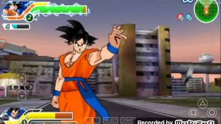 getlinkyoutube.com-Dos dioses vs dos fusiones DBZ TENKAICHI TAG TEAM