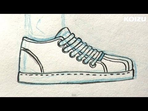 How to Draw Manga Shoes!
