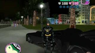 getlinkyoutube.com-GTA VICE CITY - BATMAN & BATMOBIL