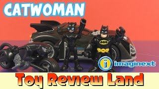 getlinkyoutube.com-Imaginext Catwoman & Batman with a Mr Freeze and Lex Luthor Short!
