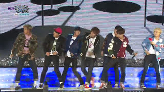 getlinkyoutube.com-BTS - Boyz with Fun / DOPE | 방탄소년단 - 흥탄소년단 / 쩔어 [Music Bank HOT Stage / 2015.10.09]