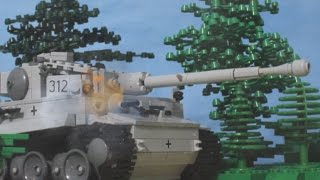 getlinkyoutube.com-Lego Tank Battle