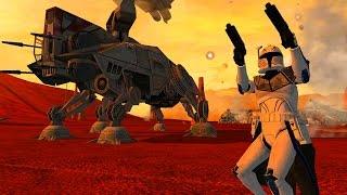 getlinkyoutube.com-Star Wars Battlefront 2 Mods: Geonosis: Landing at Point Rain